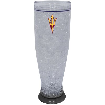 Hunter Licensed Sports NCAA Ice Pilsner Glass