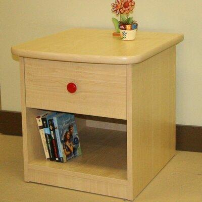 Berg Furniture Sierra 1 Drawer Nightstand