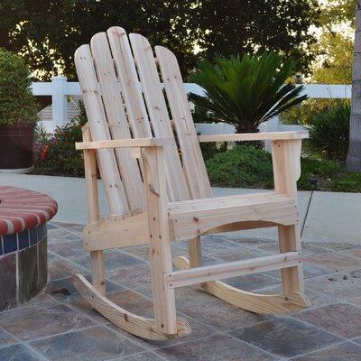 Shine Company Inc. Marina Rocking Chair