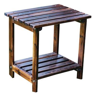 Shine Company Inc. Rectangular Cedar Side Table