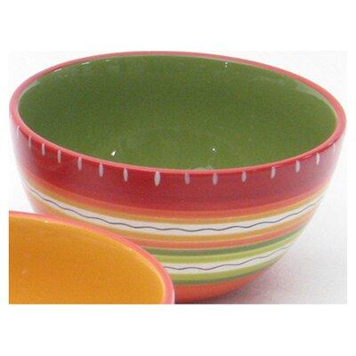 Certified International Hot Tamale Ice Cream Bowl