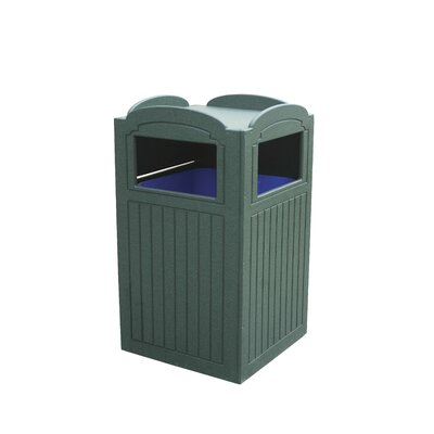 32-Gal Trash Receptacle by Eagle One