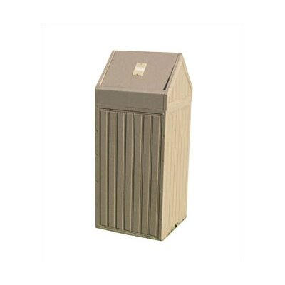 Swing Top New England Trash Receptacle by Eagle One