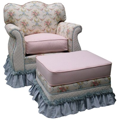 Blossoms and Bows Adult Empire Glider Rocker by Angel Song