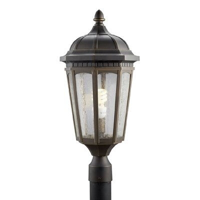 "Kichler Courtyard 1 Light 10.32"" Outdoor Post Lantern"