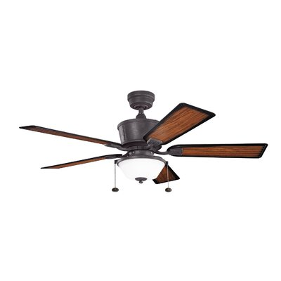 """52"""" Cates 5 Blade Ceiling Fan Product Photo"""