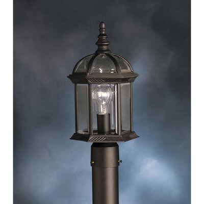 Kichler New Street 1 Light Outdoor Post Lantern