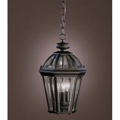 Kichler Trenton 3 Light Outdoor Hanging Pendant