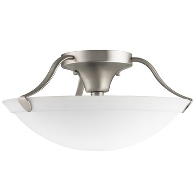 3 Light Semi Flush Mount Product Photo