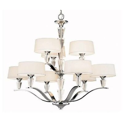 Crystal Persuasion 9 Light Chandelier by Kichler