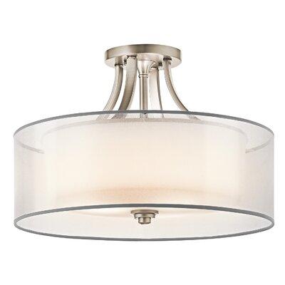 Lacey 4 Light Semi Flush Mount Product Photo