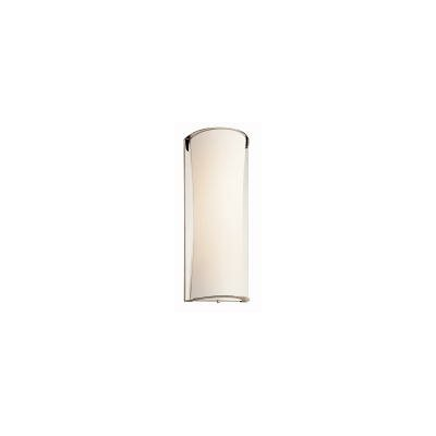 """Kichler 22"""" One Light Wall Sconce in Polished Nickel"""