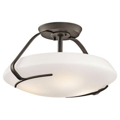 4 Light Semi Flush Mount Product Photo