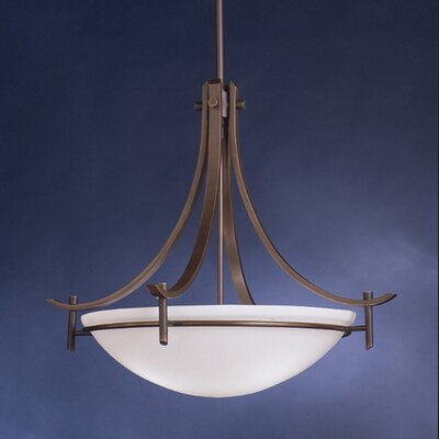 Olympia 3 Light Inverted Pendant Product Photo