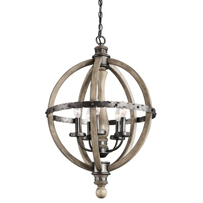 Evan 5 Light Chandelier Product Photo