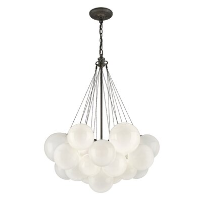 Nuage 3 Light Cluster Pendant by Troy Lighting