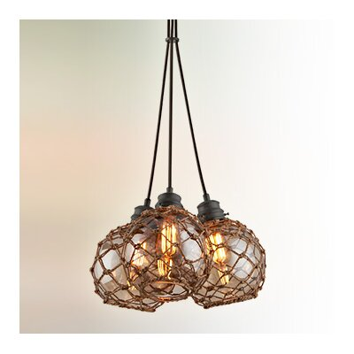 Outer Banks 3 Light Cluster Pendant by Troy Lighting