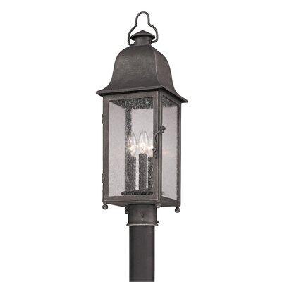 Troy Lighting Larchmont 3 Light Outdoor Post Lantern
