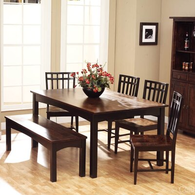 Tahoe 6 Piece Dining Set by William Sheppee
