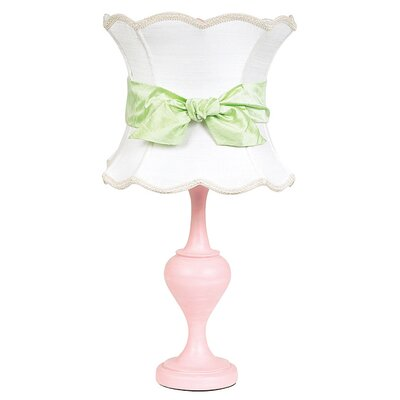 "Jubilee Collection Curvature 26.75"" H Table Lamp with Hourglass Shade"