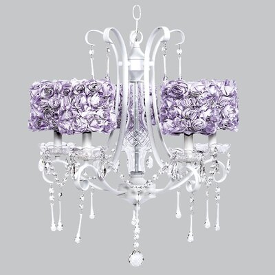 Colleen 5 Light Drum Chandelier by Jubilee Collection