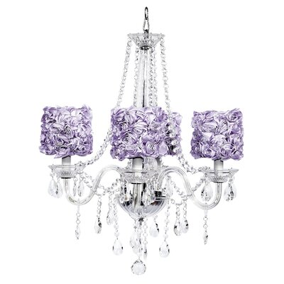 Middleton 4 Light Drum Chandelier by Jubilee Collection