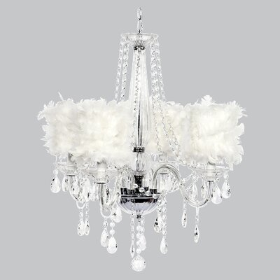 Middleton 4 Light Chandelier by Jubilee Collection