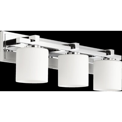 3 Light Cylinder Vanity Light Product Photo