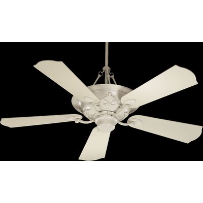 "56"" Salon 5 Blade Ceiling Fan with Remote Product Photo"