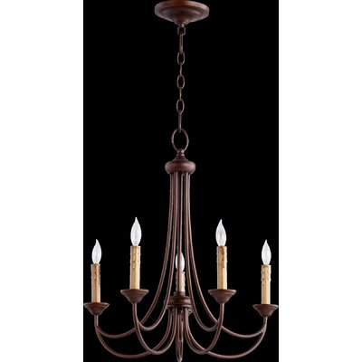 Brooks 5 Light Candle Chandelier Product Photo