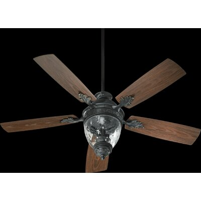 "52"" Georgia 5 Blade Patio Ceiling Fan Product Photo"