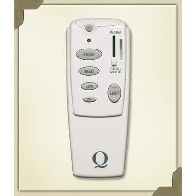 Quorum Hand Held Fan Remote Control in White