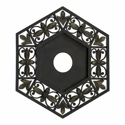Marcela Small Ceiling Medallion by Quorum