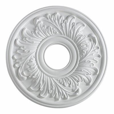 Ceiling Medallion in Studio White by Quorum