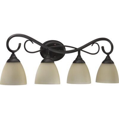 Quorum Powell 4 Light Vanity Light