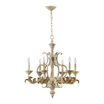 Florence 6 Light Chandelier Product Photo