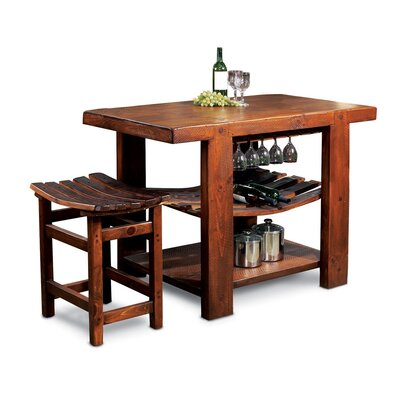 2 Day Designs, Inc Winemaster's Stave Entryway Bench