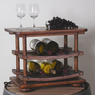 6 Bottle Tabletop Wine Rack by 2 Day
