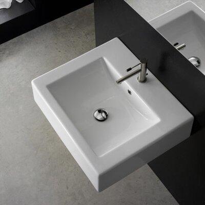 Scarabeo by Nameeks Single Hole Bathroom Sink