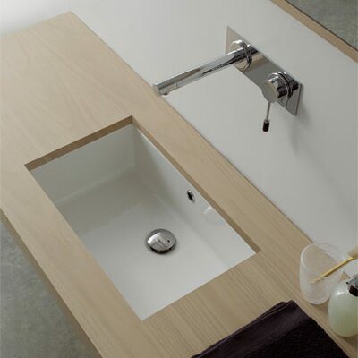 Miky Undermount Bathroom Sink Product Photo