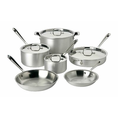 Master Chef 10 Piece Cookware Set by All-Clad