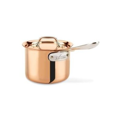 c2 Copper Clad Sauce Pan with Lid by All-Clad
