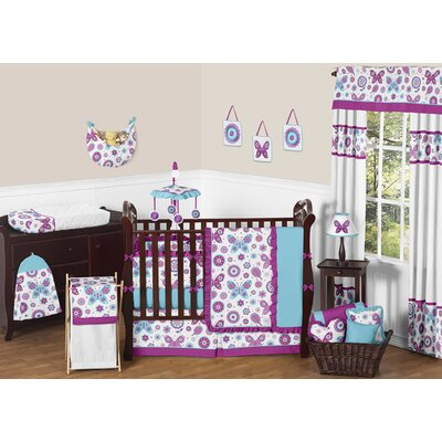 Spring Garden 9 Piece Crib Bedding Set by Sweet Jojo Designs