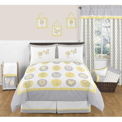 Mod Garden Full/Queen Bedding Collection by Sweet Jojo Designs