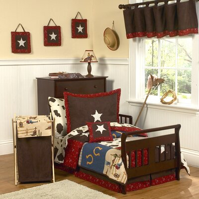 Sweet Jojo Designs Wild West Cowboy Toddler Bedding Collection