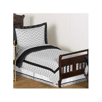 Zig Zag 5 Piece Toddler Bedding Set by Sweet Jojo Designs