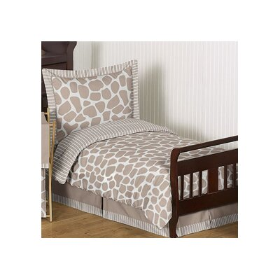 Sweet Jojo Designs Giraffe 5 Piece Toddler Bedding Set ...