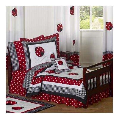 designs little ladybug 5 piece toddler bedding set reviews wayfair