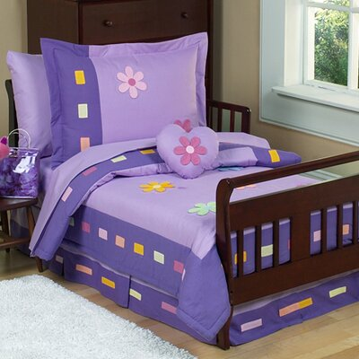 Danielle's Daisies 5 Piece Toddler Bedding Set by Sweet Jojo Designs