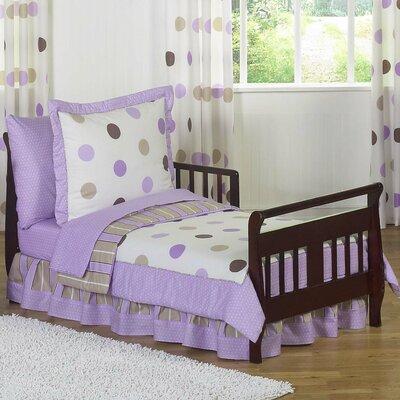 Mod Dots 5 Piece Toddler Bedding Set by Sweet Jojo Designs